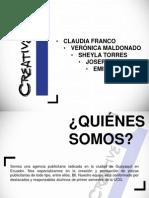 diapositivas AGENCIA PUBLICIDAD
