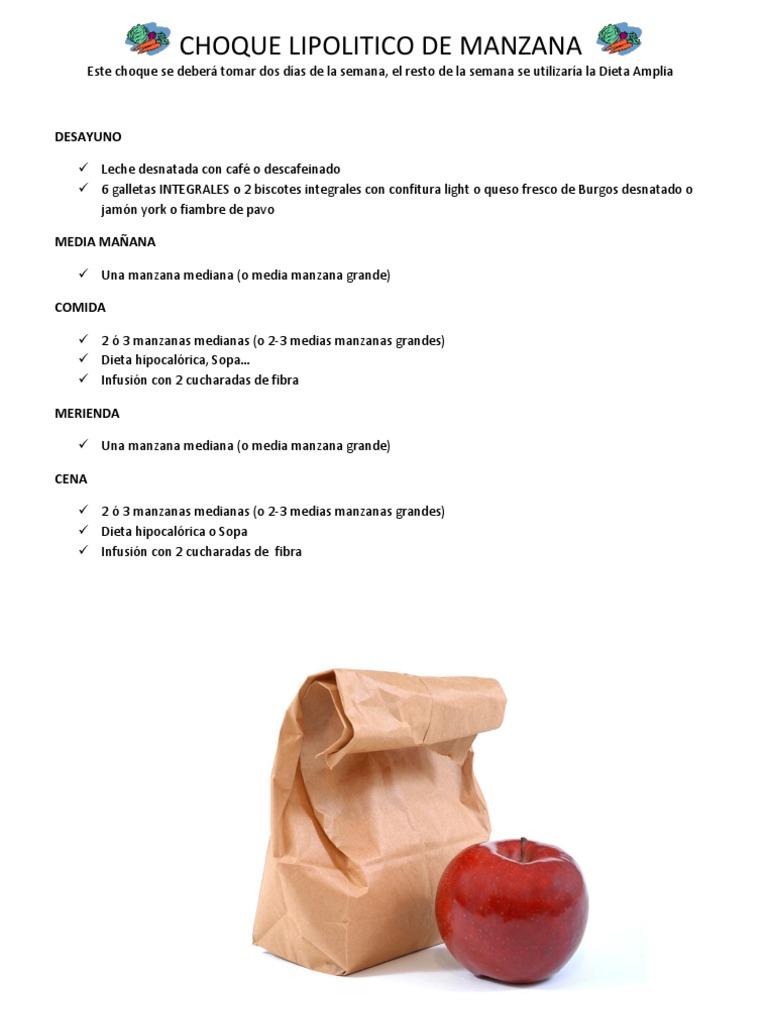 Dieta choque naranja naturhouse
