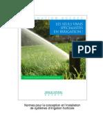 Normes Irrigation Aiq