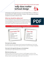Learn to Design a Letterhead Part 3
