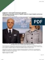 On America Algeria Support for Gadafi