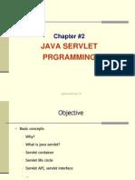Chapter2 Servlet Programming