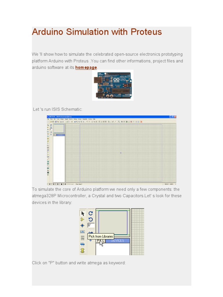 Arduino Simulation With Proteusdoc Capacitor Proteus Relay Circuitcircuit Diagram Of Proteusrelay As A