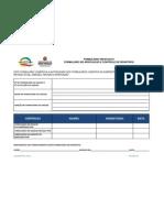 FM NTGQ 01 Formulário de Aprovação e Controle de Registros