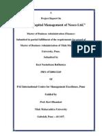 Capital Mgt. OCP Report