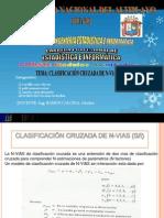 CLASIFICACIÓN CRUZADA DE N VIAS (SIn iteraccion)