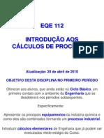 Introdução aos calculos de processos químicos