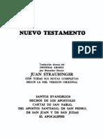 Biblia Comentada Nuevo Testamento - Mons.straubinger