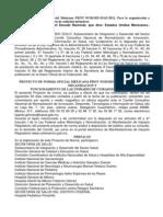 Norma 0025 Funcionamiento de Ucin