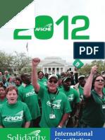 AFSCME International Constitution 2012