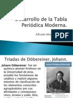 Desarrollo de la Tabla Periódica Moderna