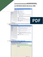 Instalación de una INSTANCIA NUEVA SQL Server 2008