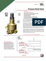 Pressure Relief Valve 55L
