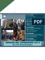 Semana Del Estudiante 2012