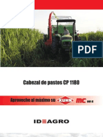Cabezal de Pastos CP 1180 - Ideagro