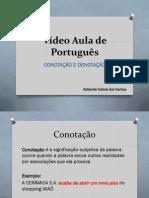 Vdeo Aula de Portugus - Conotao e Denotao