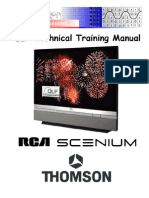 Thomson Rca Scenium Dlp Technikal Training Manual