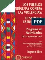 Los Pueblos Indígenas contra las Violencias