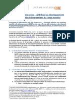 Document d'information sur les enjeux no 3