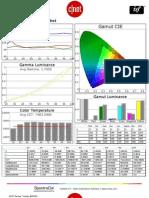 Toshiba 40E220U calibration report