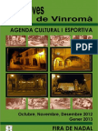 Agenda Cultural i Esportiva 2012-2013