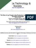 Science Technology Society 1999 Callon 81 94