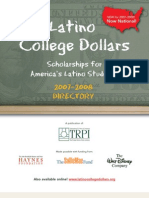 Scholarships for Latinos 2007-2008