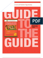 Center for Student Opportunity GUIDE - 2012 Eng-Spanish