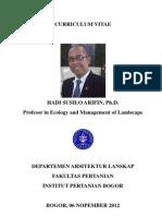 39 HS Arifin CV Singkat 2012-11-08