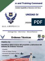D152055- 4 Ordenes Técnicas