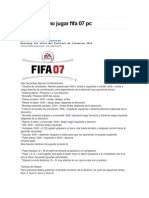 Guia de Como Jugar Fifa 07 Pc