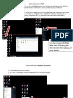 Movie Maker Step by Step Packet