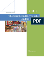 The Caribbean HR Thought Leaders Summit 2013