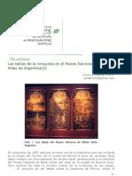 Las Tablas de La Conquista en El Museo Nacional de Bellas Artes de Argentina