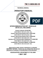AN/VIC-3 Intercom System