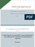 - comprador de serviços