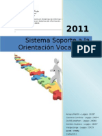 Sistema Apoyo a La Orientacion Vocacional