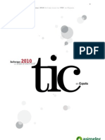 ASIMELEC Informe 2010 Macrosector TIC Espana
