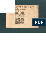 BIANCHINI, F. • Tabulature de lutz, en diverses formes (Moderne, Lyon, ca. 1540) (facsimile italian lute tablature)