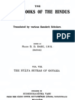Nyaya Sutras of Gautama Text