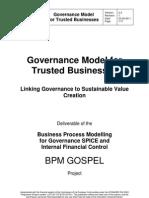 Governance SPICE Model v24 for Trusted Businesses