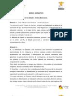 Fracción III - Marco Normativo aplicable a Guerreros por la Alfabetización