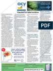 Pharmacy Daily for Thu 08 Nov 2012 - TGA praised for review, Lung cancer stigma, Pradaxa, Fish oil value and much more...