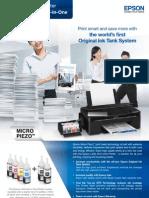 EPSON L200 Brochure