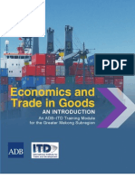 Economics and Trade in Goods_ an Introduction an ADB-ITD Training Module for the Greater Mekong Subregion