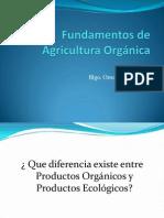 Ponencia Fundamentos de Agricultura Orgánica 1