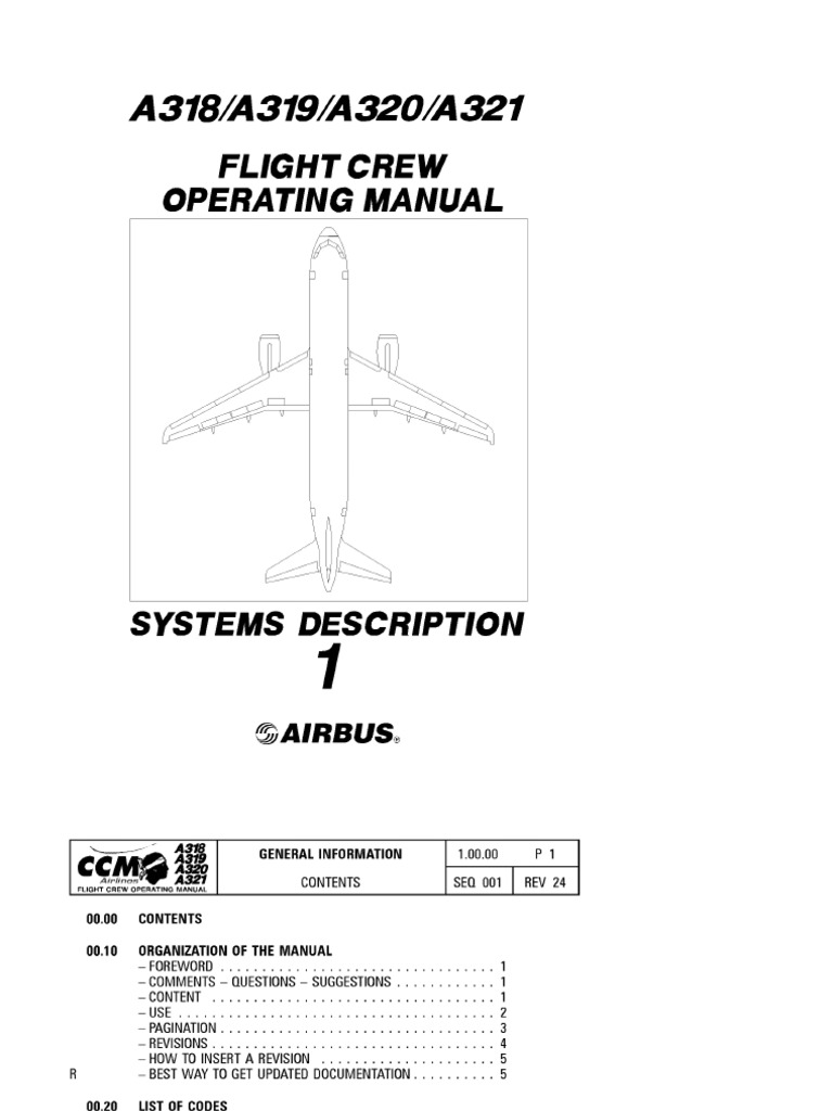 airbus 319 a320 a321 fcom rh scribd com Reference List Reference Guide Template