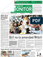 CBCP Monitor Vol. 16 No. 23