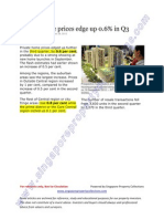 spcthe straits times 29 oct 2012 private home prices edge up 0 6 in q3