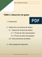absorcion gaeosa